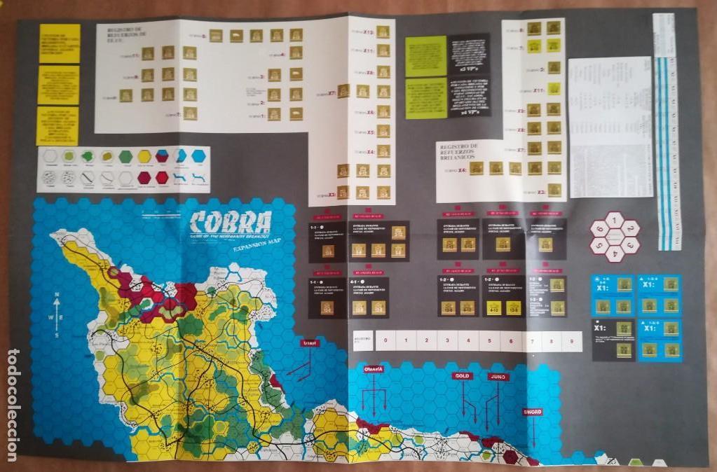 Juegos Antiguos: JUEGO NAC COBRA NORMANDÍA - NIKE & COOPER - Foto 11 - 132617246
