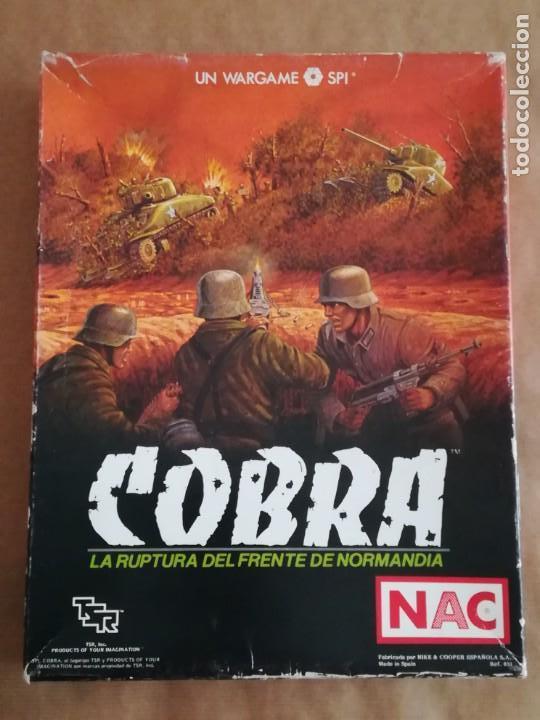 Juegos Antiguos: JUEGO NAC COBRA NORMANDÍA - NIKE & COOPER - Foto 17 - 132617246