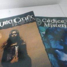 Juegos Antiguos: WITCHCRAFT BRUJERIA Y CODICE DE MISTERIOS . CJ CARELLA . LIBRO DE ROL. Lote 132770498