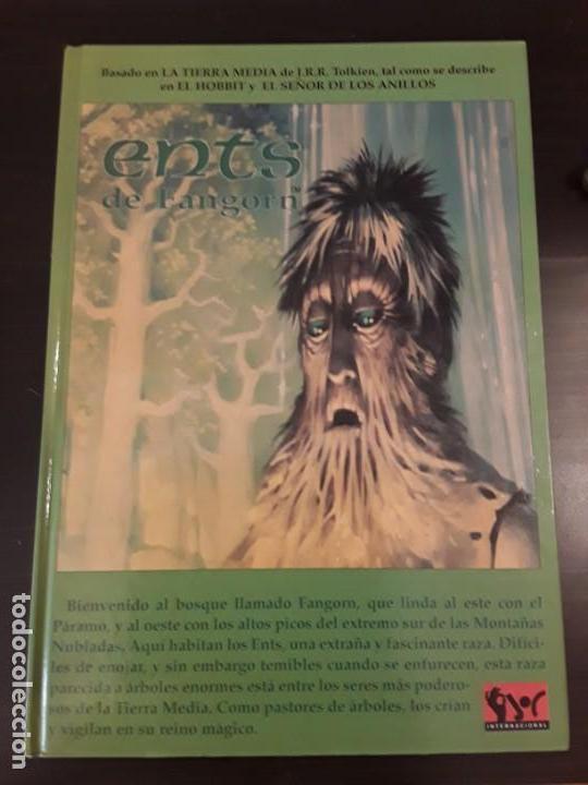 Juegos Antiguos: ENTS DE FANGORN - Juego de rol - El Señor de los Anillos - Joc Internacional, 1993 - Foto 2 - 132789866
