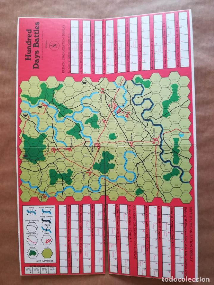 Juegos Antiguos: Hundred Days Battle by Avalon Hill Napoleonic Board War Game - Foto 10 - 133032850