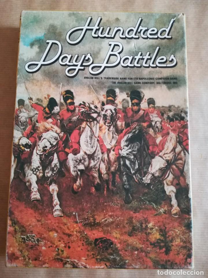 Juegos Antiguos: Hundred Days Battle by Avalon Hill Napoleonic Board War Game - Foto 12 - 133032850