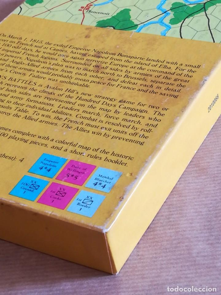 Juegos Antiguos: Hundred Days Battle by Avalon Hill Napoleonic Board War Game - Foto 21 - 133032850