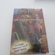 Juegos Antiguos: HARRY POTTER JUEGO DE CARTAS INTERCAMBIABLES JUEGO INICIAL PARA DOS JUGADORES PRECINTADO WIZARDS. Lote 140058658