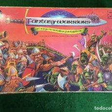 Juegos Antiguos: JUEGO DE MESA FANTASY WARRIORS DE NICK LUND - GRENADIER MODELS.. Lote 133384334