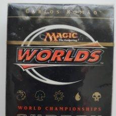 Juegos Antiguos: MAGIC THE GATHERING 2002 WORLD CHAMPIONSHIP DECK CARLOS ROMAO. Lote 133396459