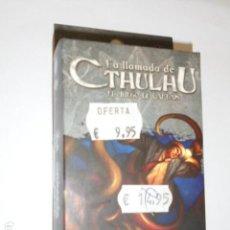 Juegos Antiguos: LA LLAMADA DE CTHULHU EL JUEGO DE CARTAS - ASYLUM PACK - LA ORDALIA - OFERTA. Lote 133563634