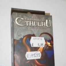Juegos Antiguos: LA LLAMADA DE CTHULHU EL JUEGO DE CARTAS - ASYLUM PACK - LA ORDALIA - OFERTA. Lote 133563674