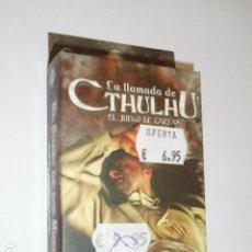 Juegos Antiguos: LA LLAMADA DE CTHULHU EL JUEGO DE CARTAS - ASYLUM PACK - EL SUEÑO DE LOS MUERTOS - OFERTA. Lote 133563746