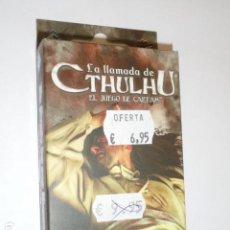 Juegos Antiguos: LA LLAMADA DE CTHULHU EL JUEGO DE CARTAS - ASYLUM PACK - EL SUEÑO DE LOS MUERTOS - OFERTA. Lote 133563910