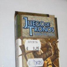 Juegos Antiguos: JUEGO DE TRONOS EL JUEGO DE CARTAS - CAPITULO - EL GRAN COMBATE - OFERTA. Lote 133569570