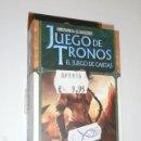 Juegos Antiguos: JUEGO DE TRONOS EL JUEGO DE CARTAS - CAPITULO - FUEGO Y HIELO - OFERTA. Lote 133572146