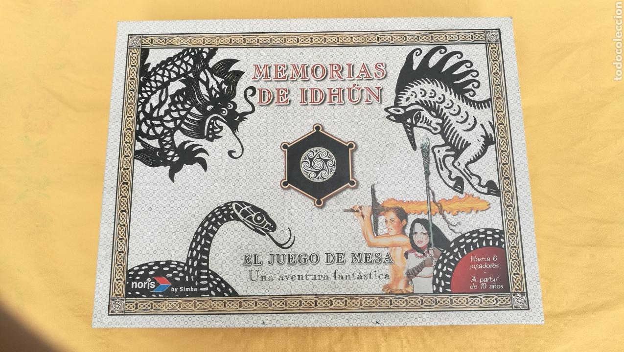 MEMORIAS DE IDHÚN. EL JUEGO DE MESA. (Juguetes - Rol y Estrategia - Juegos de Rol)