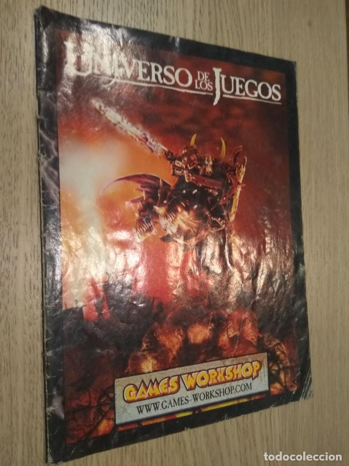 ROL. EL UNIVERSO DE LOS JUEGOS GAMES WORKSHOP. REVISTA CATALOGO, (Juguetes - Rol y Estrategia - Juegos de Rol)