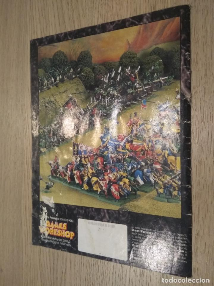 Juegos Antiguos: ROL. EL UNIVERSO DE LOS JUEGOS GAMES WORKSHOP. REVISTA CATALOGO, - Foto 6 - 135002338