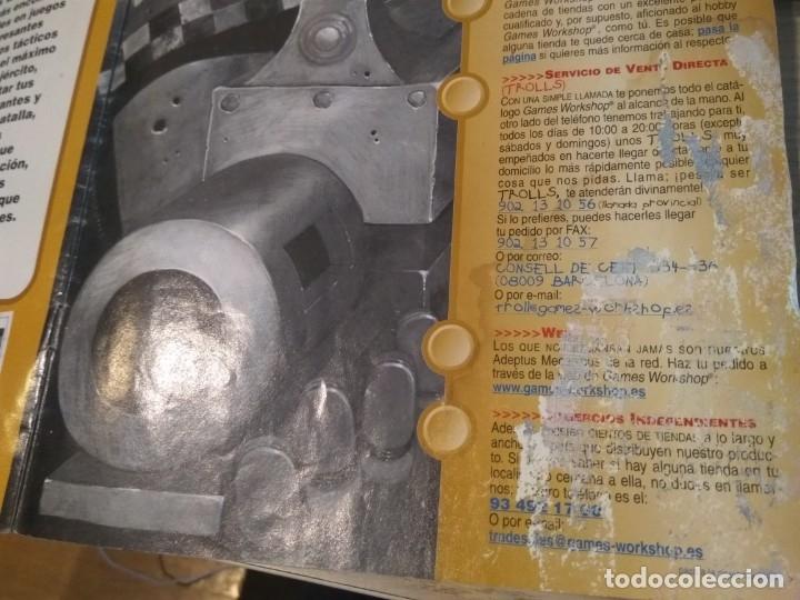 Juegos Antiguos: ROL. EL UNIVERSO DE LOS JUEGOS GAMES WORKSHOP. REVISTA CATALOGO, - Foto 5 - 135002338