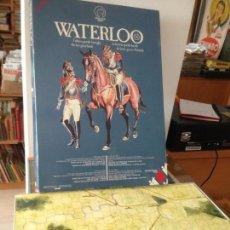 Juegos Antiguos: JUEGO ESTRATEGIA WATERLOO INSTRUCIONES EN ESPAÑOL. Lote 260713885
