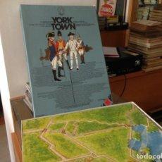 Juegos Antiguos: JUEGO ESTRATEGIA YORK TOWN INSTRUCIONES EN ESPAÑOL. Lote 260713825