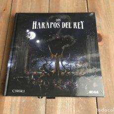 Juegos Antiguos: LA LLAMADA DE CTHULHU - LOS HARAPOS DEL REY - JUEGO DE ROL - EDGE - EDICIÓN PRIMIGENIA. Lote 147765761