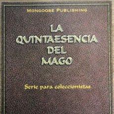 Juegos Antiguos: ROL LA QUINTAESENCIA DEL MAGO 2001. Lote 135527502