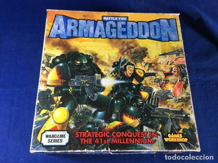 JUEGO DE ESTRATEGIA BATTLE FOR ARMAGEDOON DE GAMES WORKSHOP (Juguetes - Rol y Estrategia - Juegos de Rol)