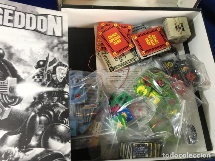Juegos Antiguos: JUEGO DE ESTRATEGIA BATTLE FOR ARMAGEDOON DE GAMES WORKSHOP - Foto 2 - 135811730