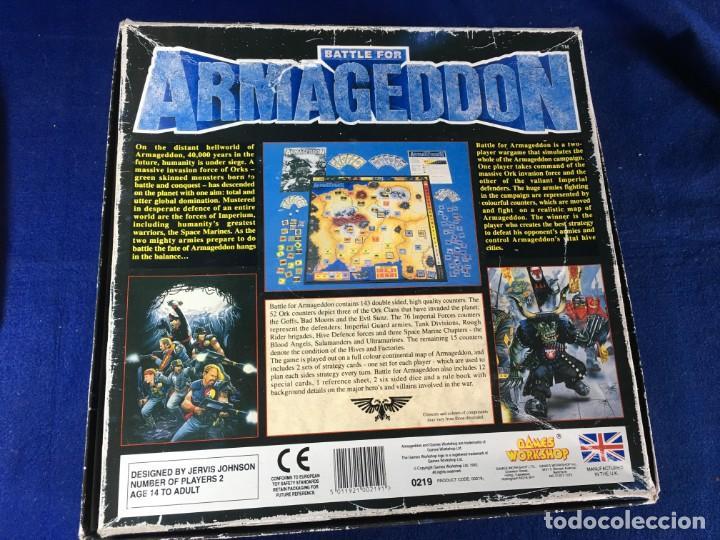Juegos Antiguos: JUEGO DE ESTRATEGIA BATTLE FOR ARMAGEDOON DE GAMES WORKSHOP - Foto 3 - 135811730