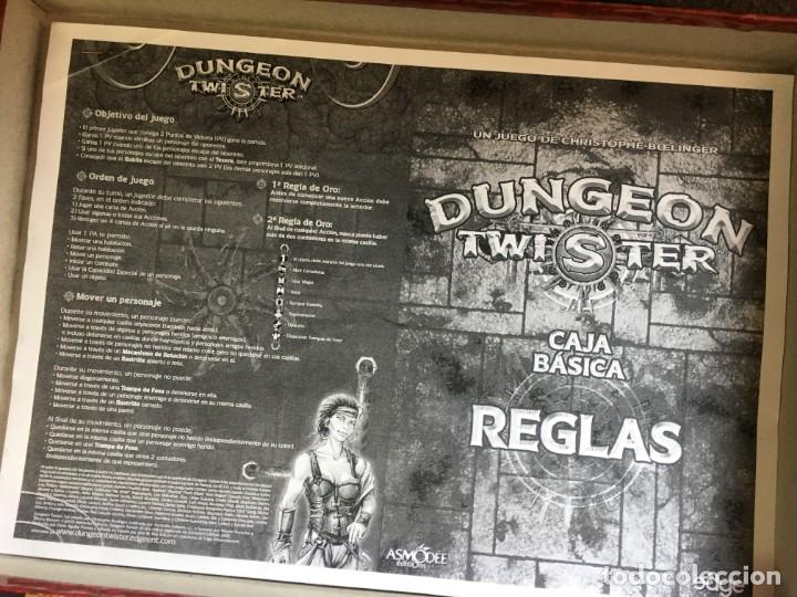 Juegos Antiguos: JUEGO DE ROL DUNGEON TWISTER - Foto 5 - 135843802