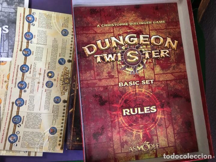 Juegos Antiguos: JUEGO DE ROL DUNGEON TWISTER - Foto 7 - 135843802