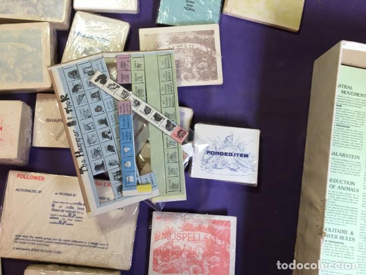 Juegos Antiguos: JUEGO DE ROL THE HAMMER OF THOR - EL MARTILLO DE THOR DE GAMESHOP - Foto 12 - 135845242