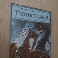 Juegos Antiguos: EL RASTRO DE TSATHOGGHUA. LLAMADA CTHULHU. JOC INTERNACIONAL 111. 1990 JUEGO ROL. Lote 136022734