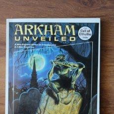 Juegos Antiguos: ARKHAM UNVEILED, SUPLEMENTO LLAMADA CTHULHU JUEGO ROL JOC CHAOSIUM. Lote 90680210