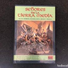 Juegos Antiguos: SEÑORES DE LA TIERRA MEDIA VOL III - SUPLEMENTO LOTR 327. Lote 155680942