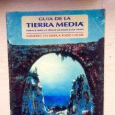Juegos Antiguos: GUÍA DE LA TIERRA MEDIA - JOC INTERNACIONAL / EL SEÑOR DE LOS ANILLOS. Lote 137298986