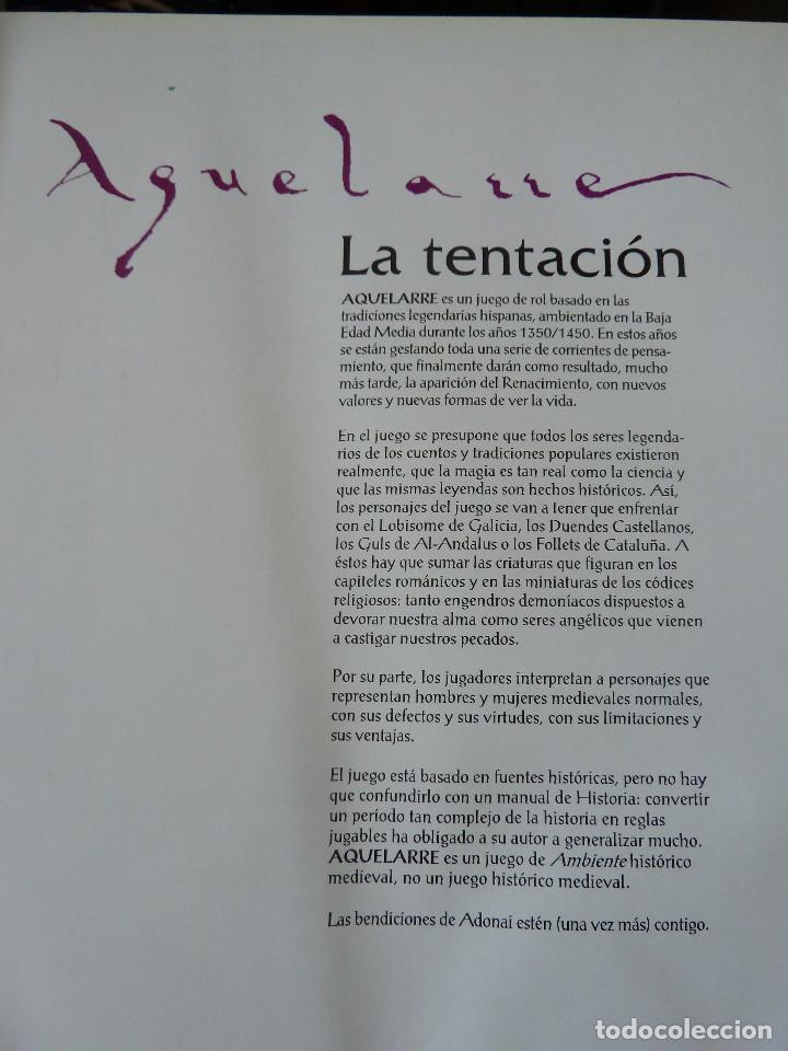 Juegos Antiguos: AQUELARRE LA TENTACION POR RICARD IBAÑEZ LA CAJA DE PANDORA - Foto 7 - 137329962