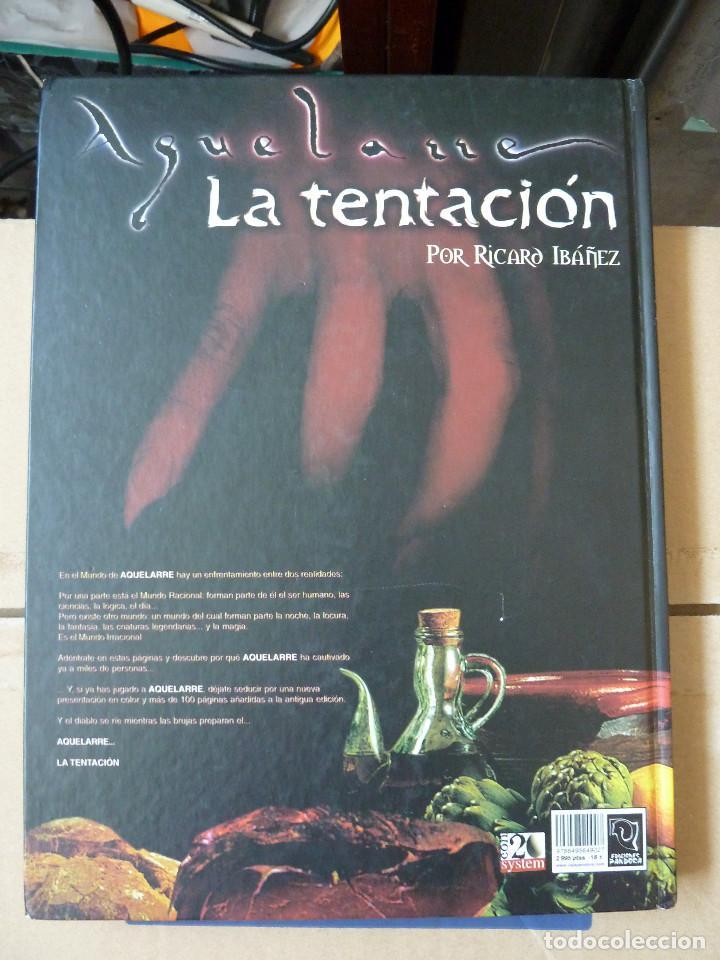 Juegos Antiguos: AQUELARRE LA TENTACION POR RICARD IBAÑEZ LA CAJA DE PANDORA - Foto 10 - 137329962
