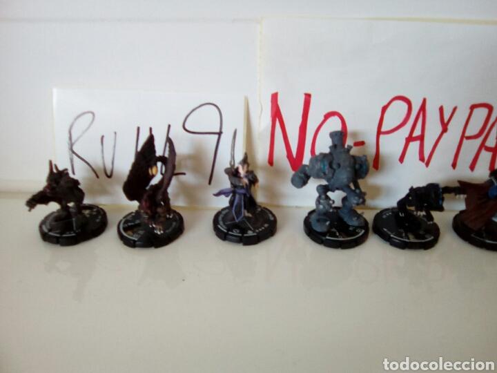 Juegos Antiguos: Gran lote 10 figuras heroclix mage knight - Foto 2 - 139509408