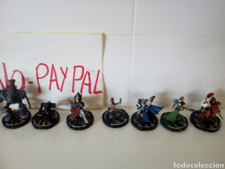 Juegos Antiguos: Gran lote 10 figuras heroclix mage knight - Foto 3 - 139509408