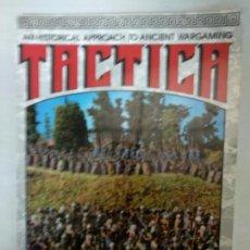 Juegos Antiguos: TACTICA - WARGAMES RULES - ARTY CONLIFFE REGLAS. Lote 139537634