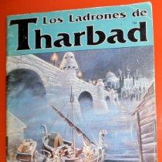Juegos Antiguos: EL SEÑOR DE LOS ANILLOS. LOS LADRONES DE THARBAD. JOC INTERNACIONAL 311.LIBRO JUEGO DE ROL.CON MAPA!. Lote 139830474
