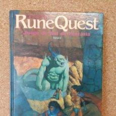 Juegos Antiguos: JUEGO DE ROL RUNE QUEST BASICO. Lote 139831010