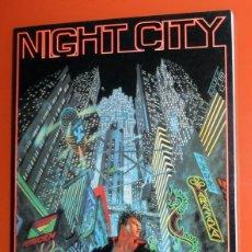 Juegos Antiguos: LIBRO JUEGO DE ROL NIGHT CITY - GUIA URBANA PARA CYBERPUNK 2.0.2.0 CP103 ANTIGUO AÑO 1994 TALSORIAN . Lote 139831906
