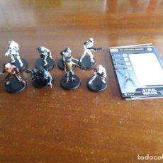 Juegos Antiguos: LOTE 8 FIGURAS STAR WARS.CHAMPIONS OF THE FORCE. NUEVAS. Lote 139890850