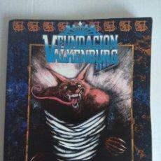 Juegos Antiguos: FUNDACION VALKENBURG/UNA CRONICA DE LOCURA PARA HOMBRE LOBO/LA FACTORIA.. Lote 140407478