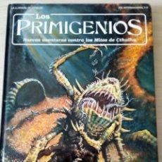 Juegos Antiguos: LOS PRIMIGENIOS. LA LLAMADA DE CTHULHU. JUEGO DE ROL. H.P. LOVECRAFT 1994. Lote 140502314