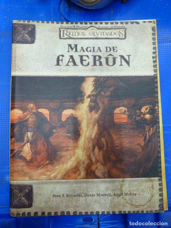 MAGIA DE FAERUN - REINOS OLVIDADOS - DEVIR (Juguetes - Rol y Estrategia - Juegos de Rol)