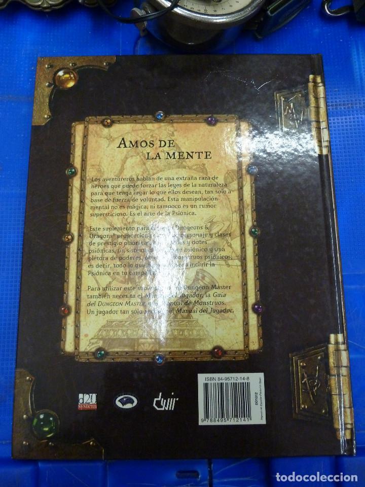 Juegos Antiguos: MANUAL DE PSIONICA - DUNGEONS & DRAGONS - DEVIR - Foto 2 - 140622406
