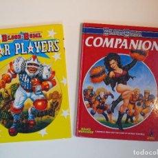 Juegos Antiguos: BLOOD BOWL STAR PLAYER Y COMPANION - GAMES WORKSHOP 1989 Y 90 - COMPLETOS - EN INGLÉS. Lote 140767626