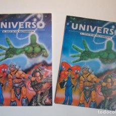 Juegos Antiguos: UNIVERSO, EL JUEGO DE ROL MULTIAMBIENTAL - CRONÓPOLIS EDICIONES 1993 - REGLAMENTO Y PANTALLA. Lote 140787138