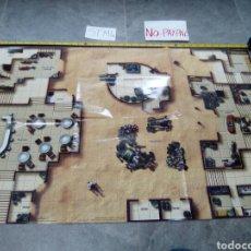 Juegos Antiguos: BASE DE JUEGO PAPEL STAR WARS MINIATURES WIZARDS LUCASFILM 2005 MINIATURE TERRAIN MAP. Lote 140976976